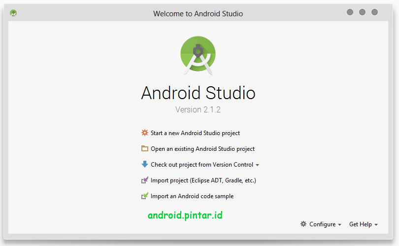 Project Pertama Android Studio 1 Halo Rasid