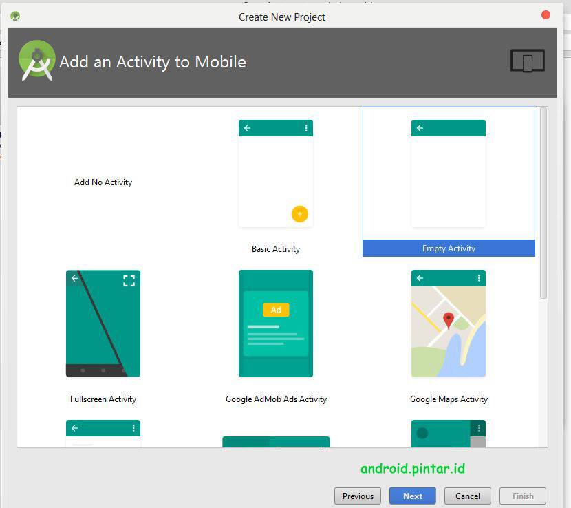 Project Pertama Android Studio 4 Halo Rasid