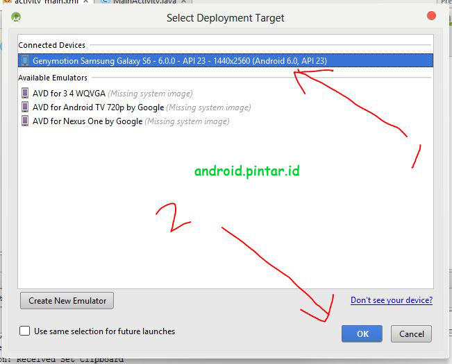 Project Pertama Android Studio 8 Halo Rasid